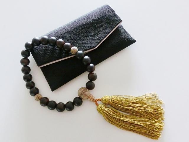 数珠袋と数珠